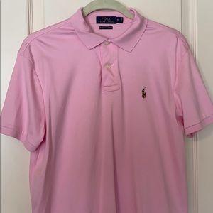 Polo Ralph Lauren NWOT Pink Boy XL Pima Soft